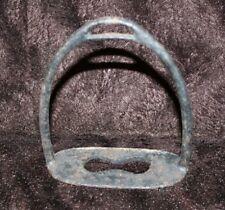 Antique Vintage Cast Iron Metal Saddle Stirrup Western Civil War