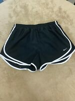 NIKE Dri Fit Womans Size  XL TEMPO Running Athletic Shorts Lined Black