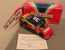 1998 Ernie Irvan Skittles 1/24 Action NASCAR Diecast Autographed