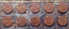 Canada 1970 - 1979 10 Coin Gem BU Set!!