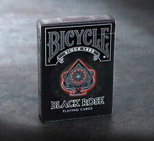 BICYCLE BLACK ROSE PLAYING CARDS BRAND NEW SEALED