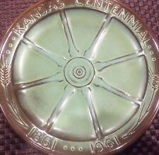 Frankoma Pottery KANSAS CENTENNIAL 1861-1961 Commemorative PLATE