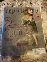 BRAND NEW TARGET EXCLUSIVE TAYLOR SWIFT REPUTATION MAGAZINE - CD INCLUDED