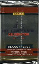 Class of 2020 Panini Pro Football Hall of Fame Factory Sealed Set Pack 20 Cards!