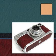 Kamera Belederung Kameraleder MUNGO Muster, 20 Farben, große Blätter 270x200 mm