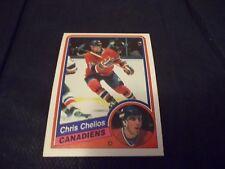 1984-85 OPC O-Pee-Chee #259 Chris Chelios Rookie Canadiens - nrmt