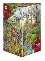HY29414 - Heye Puzzles - Triangular , 1500 Pc - Fairy Tales, Prades JIG-SAW