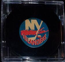 Vintage Art Ross Converse New York Islanders Puck 1969-1977 Rubber Crest Game