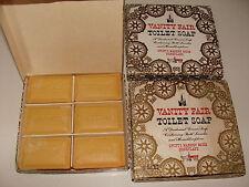 1950s Disneyland Swift's Market House Vanity Fair Toilet Soap box 6 bars Disney