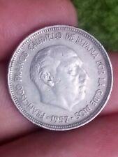 Spain General Franco 5 Pesetas 1957 60 Espana PTAS Kayihan coins