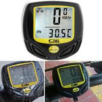 MTB Bicycle Cycle Bike Speedometer Waterproof Wireless Meter Computer Odometer
