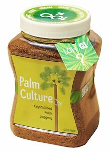 Organic Palm Culture - Crystallised Palm Jaggery, 500Gram -Nutrient Rich Mineral