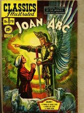 Classics Illustrated #78-1953 vg/fn 5.0 3rd edition Joan Of Arc