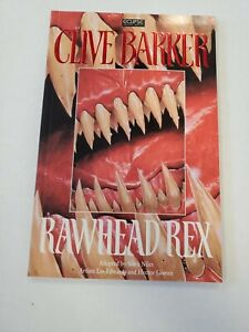 Rawhead Rex By Clive Barker, 1994, 1st edition, Eclipse Graphic Novel, PB