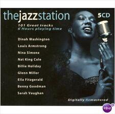 The Jazz Station: 101 Great Tracks (BOXSET) (5-Audio CD's - 2010) - Import