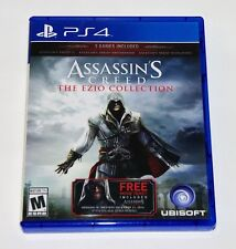 Replacement Case (NO GAME) Assassins Creed The Ezio Collection PS4 Playstation 4