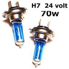 2 x remplacement xenon H7 24V 70 W camion tracteur routier tête lampes ampoules 24v