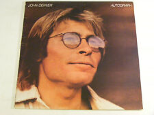 JOHN DENVER Autograph Ex+ RCA UK 1980 LP