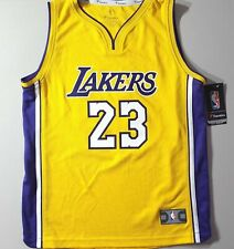 SHIPS OUT FAST Lakers LeBron James Fanatics 'Icon Edition' Jersey youth sz Large