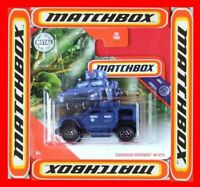 MATCHBOX 2020    OSHKOSH DEFENSE M-ATV  POLICE   70/100   NEU&OVP