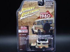2021 JOHNNY LIGHTNING 1980 TOYOTA LAND CRUISER FJ MIJO EXCLUSIVE LIMITED 1/3600