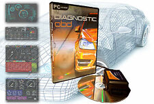 OBD Software for ALL CARS 1996 - 2017 Professional Diagnostic Pack EOBD 1&2 II
