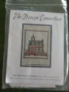 """The Design Connection Cross Stitch Kit """"Victorian House"""" K7-411"""