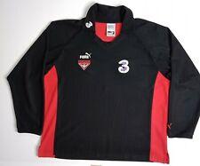 Essendon Bombers AFL Jersey Size L Mens Guernsey Jumper Long Sleeve