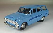 URSS USSR 1/43 Moskvitch 426 Aeroflot bleu clair #269