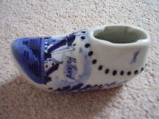 Delft  blue and white porcelain shoe-ornament