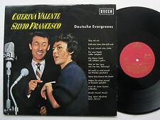 LP Caterina Valente Silvio Francesco - Deutsche Evergreens VG++ Heinz Kiessling