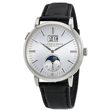 A Lange & Sohne Saxonia Moon Phase Automatic Mens Watch 384.026