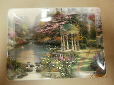 "1998 Thomas Kinkade ""The Garden Of Prayer"" Natures Retreats Plate - Ltd. Ed./Coa"