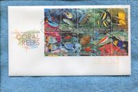 2006 Coral Reefs Cocos [Keeling] Islands  FDC F-327