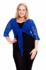 Plus Size Evening, Occasion Floral 3/4 Sleeve Tops & Blouses for Women
