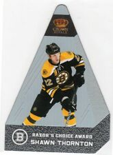 2011-12 Crown Royale Shawn Thornton Razor's Choice Award #59/99