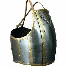 Medieval Knight Warrior Churburg Cuirass Larp Breastplate With Leather Straps