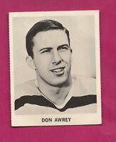 RARE 1965-66 COCA COLA BRUINS DON AWREY CARD (INV# A260)