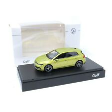 VW Golf 8 Limousine 1:43 Limonengelb Modellauto 5H0099300 10W Miniatur Norev