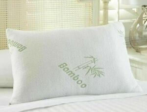 Bamboo Hollowfibre Pillow Orthopaedic Anti Bacterial Firm Head Neck Back Support
