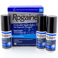 ROGAINE TOPICAL SOLUTION FOR MEN 3 MONTH SUPPLY MENS 2 OZ MAN HAIRLOSS REGAINE