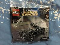 LEGO DC Comics Super Heroes Polybag 30446 The Batmobile Neuf Sachet Scellé