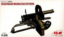 ICM 35675 - Russian Maxim Machine Gun 1910  1930 - 1:35