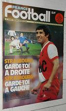 FRANCE FOOTBALL 1703 28/11 1978 MEZY NIMES FC NANTES EUROPE STRASBOURG AC MILAN