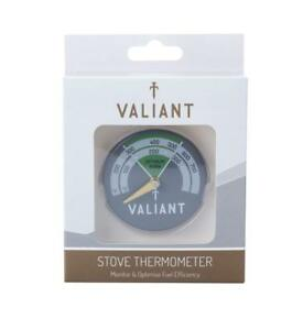 Valiant Stove Thermometer NEW FIR116 - Magnetic - Woodburning/Multifuel Stove