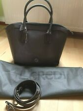 LE Credi Leder-Handtasche braun Tasche Schultertasche Shopper Tote Bag**Neu