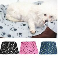 Warm Pet Mat Cat Dog Puppy Fleece Blanket Winter Soft Bed Cushion