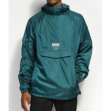 DGK 24/7 Windbreaker Jacket Green M,L NEW NWT RT $70 Skate Streetwear