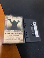 JOHN LEE HOOKER THE HEALER Michael 1843 Cassette Tape Rare