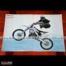 XAVIER FABRE à Palavas en 2000 - Poster Pilote Moto CROSS FREESTYLE FMX #PM1328